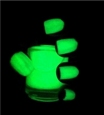 Click to get Glow in the Dark Nail Polish Green