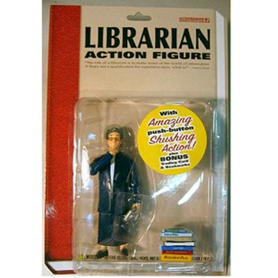 Click to get Librarian Action Figure