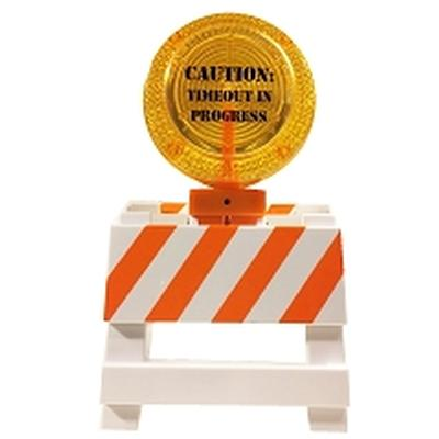 Click to get Caution Miniature Work Signs