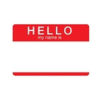 Click to get Hello My Name Is Tin Sign