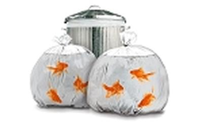 Click to get Goldfish Garbage Bag