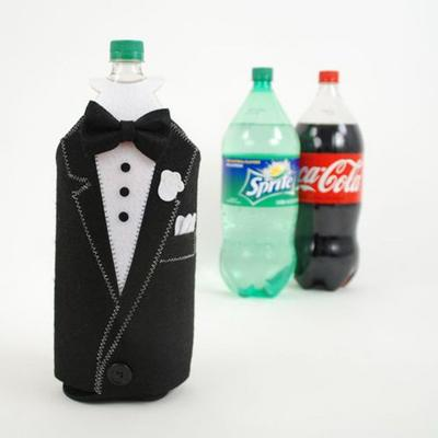 Click to get Tuxedo Bottle Covers