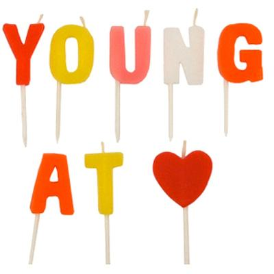 Click to get Young at Heart Candles