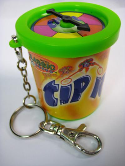 Click to get Tip It Game Keychain