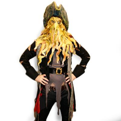 Davey Jones Pirate Costume  sc 1 st  CyberGags.com & CyberGags.com - Internet gags - Davey Jones Pirate Costume