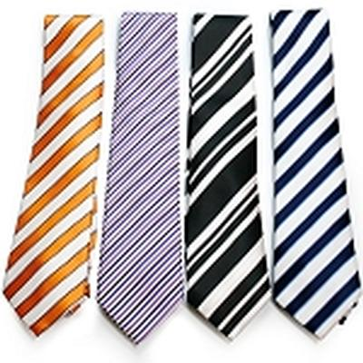 Click to get Pillow Tie  Orange  White