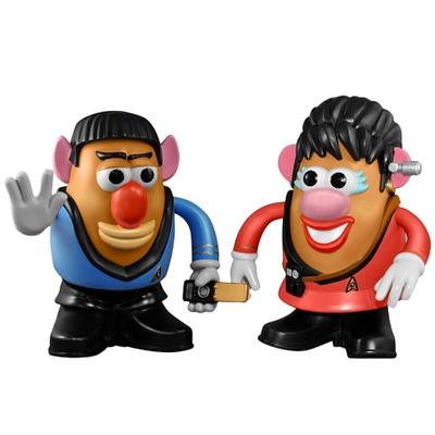 Click to get Star Trek Spock  Uhura Potato Heads