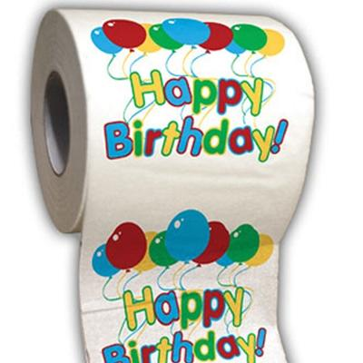 Click to get Happy Birthday Toilet Paper