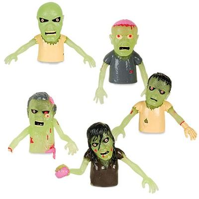 Click to get Glow in the Dark Zombie Finger Puppets