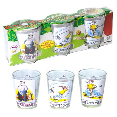 Click to get Golf Shot Glasses