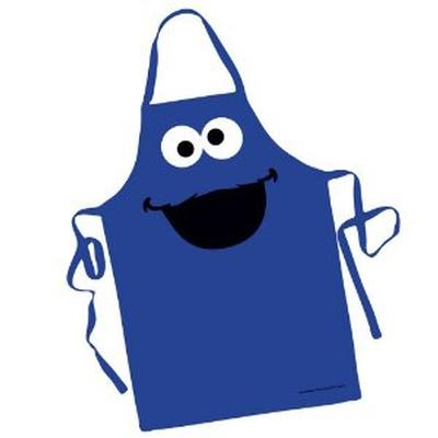 Click to get Cookie Monster Character Apron