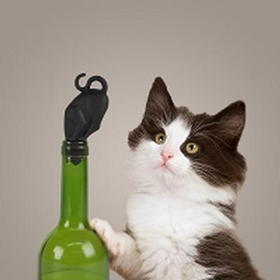 Click to get Kitty Wine Bottle Stopper
