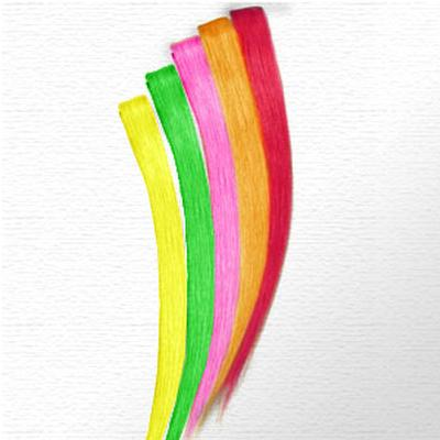 Click to get Flourescent Hair Extensions