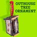 Outhouse Tree Ornament